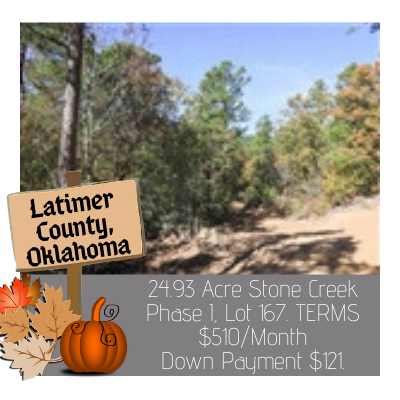 Land for Sale in Latimer County Oklahoma
