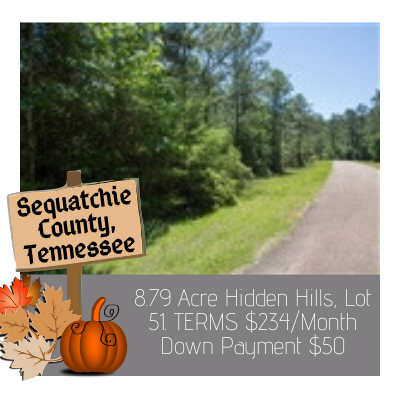 Land for sale in Sequatchie County Tennessee
